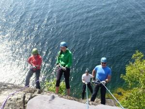 Firning från klippa vid Eriksberg Vilt o Natur