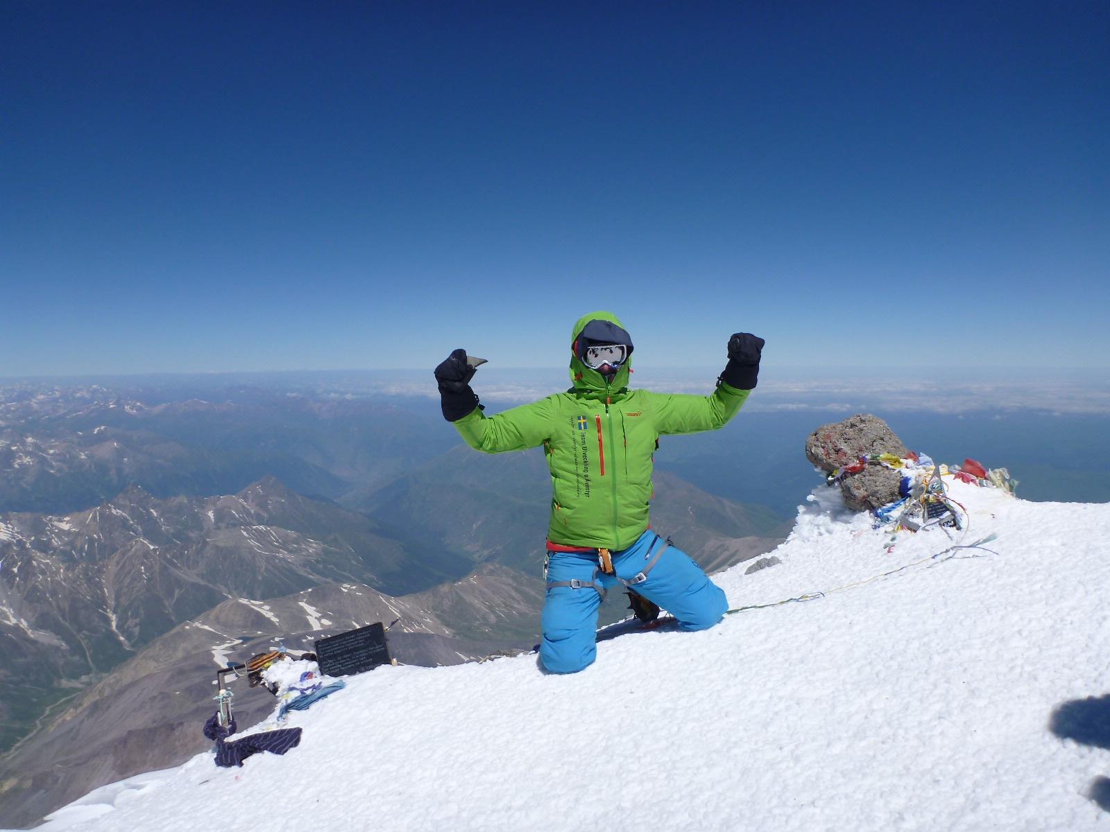7 Summits / 2:e juli 2015, Mt Elbrus, 5642m
