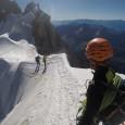 I augusti månad var i Chamonix och genomförde träning med alpin klättring. Veckan började med acklimatisering och bestigning av berget Le Chardonnet (3824m). Därefter fortsatte vi med bestigning och traversering […]