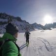 I februari månad 2017 var vi i Chamonix, Frankrike och besteg berget Auguille de Argentiere, 3900m. Bestigningen började från med skitouring över Argenitere glaciären, och sen vidare upp mot insteget […]