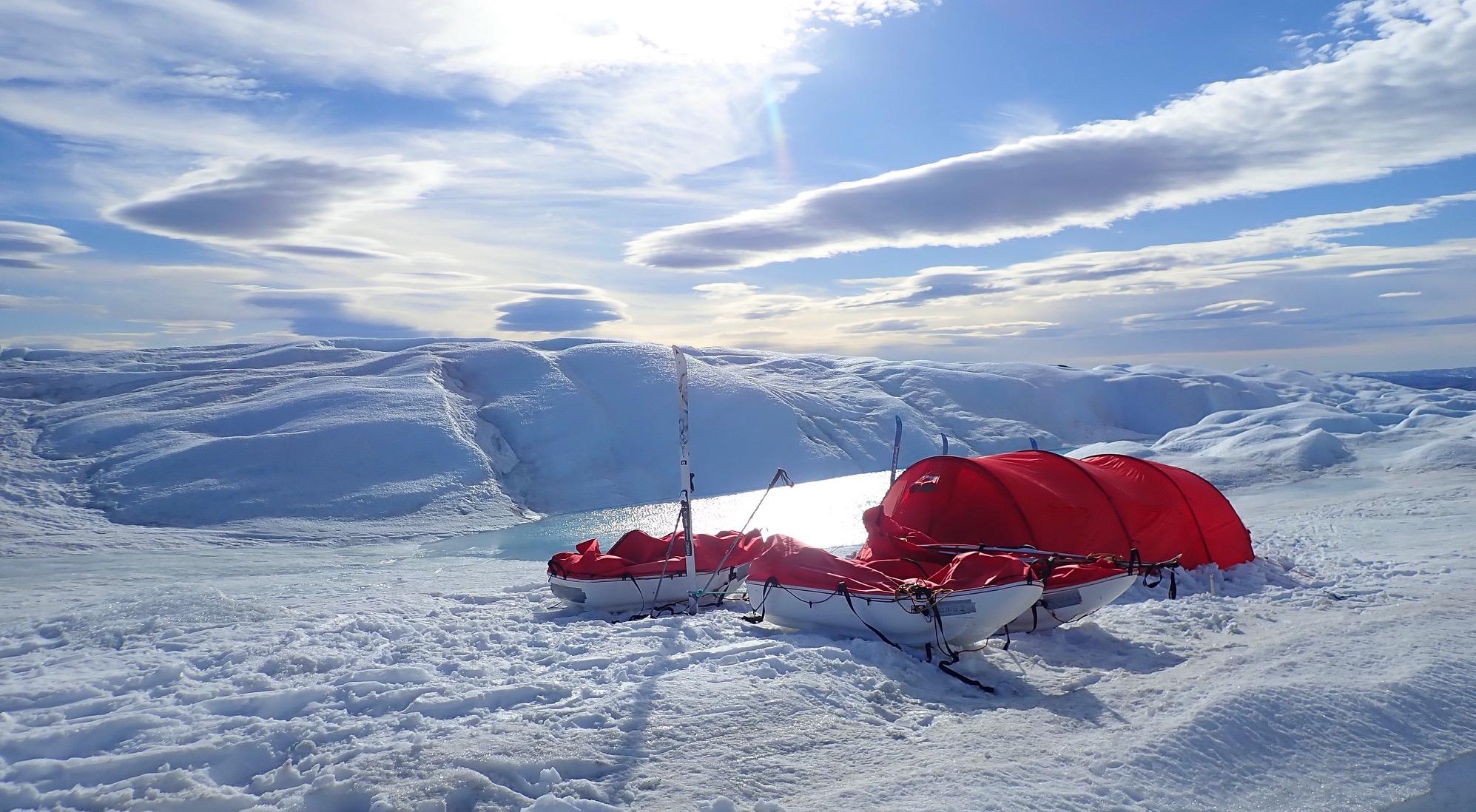 7 Summits / Skida över Grönland 600km