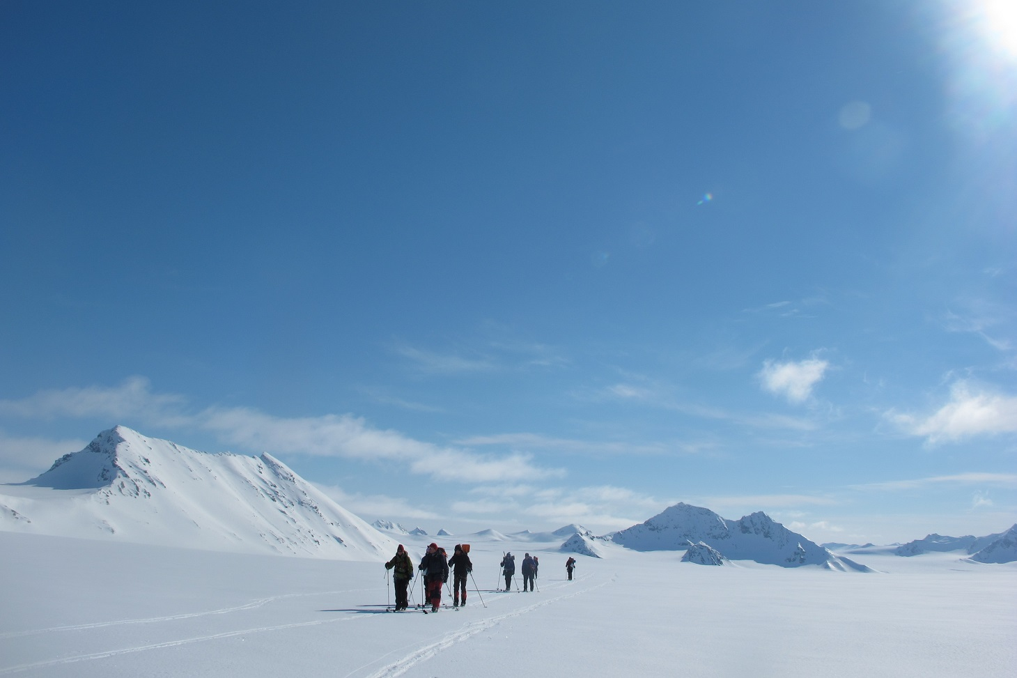 Skidexpedition över Svalbard 2023